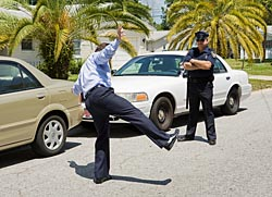 One-Leg Stand Field Sobriety Test